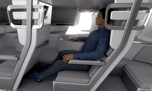 Could this Be the World's First Lie-Flat Airline Seat For Economy Class?